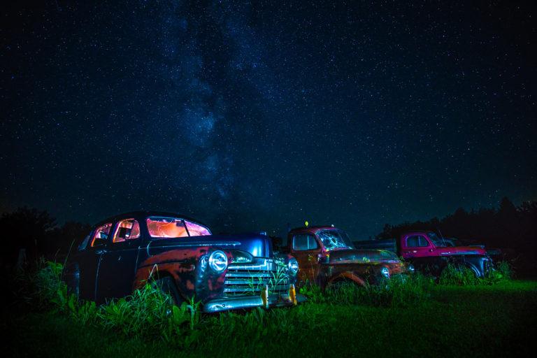 Nightime Landscapes, Milky way