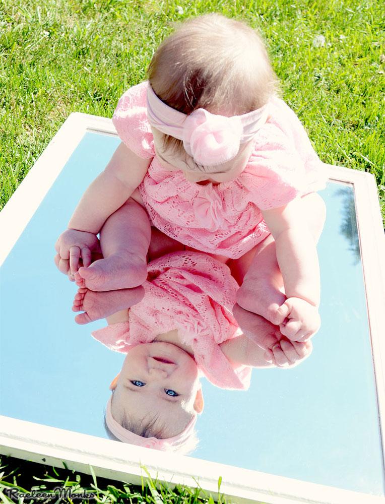 Baby Mirror Reflections