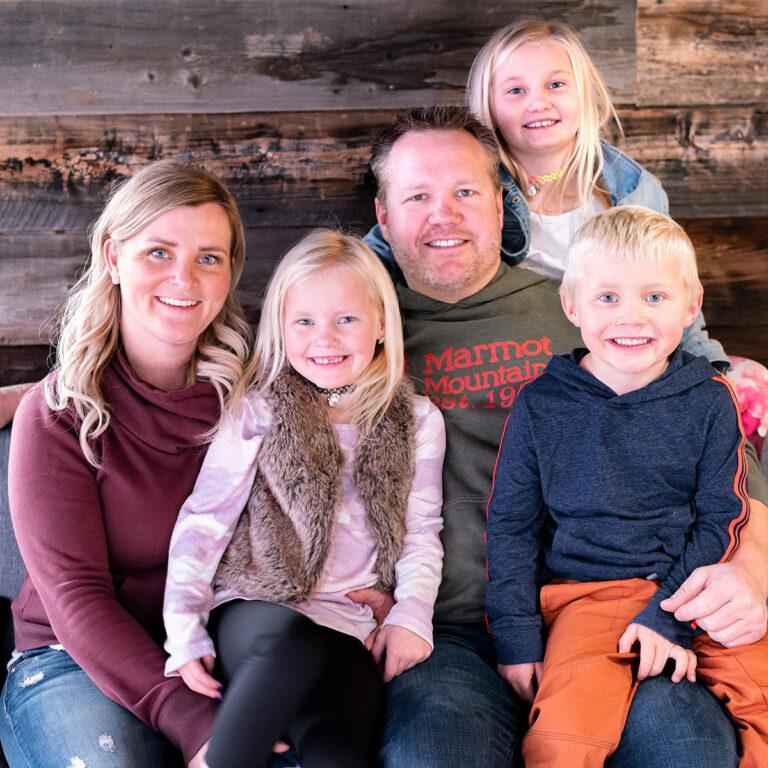 Rustic Family Photo