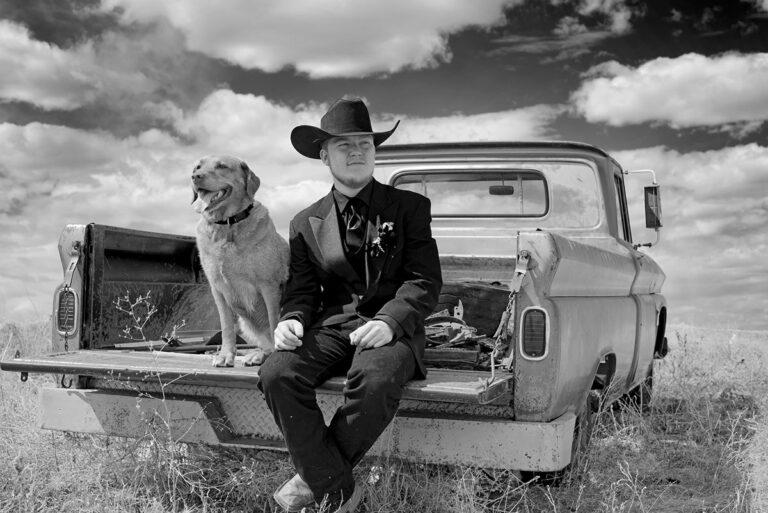A Sask Grad and his Dog