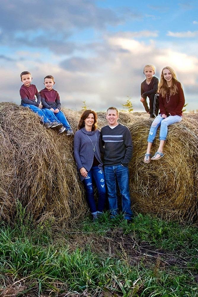 Rural Family portrait