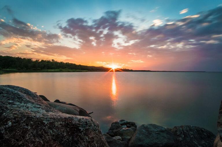 Goodspirit Lake Saskatchewan Sunset