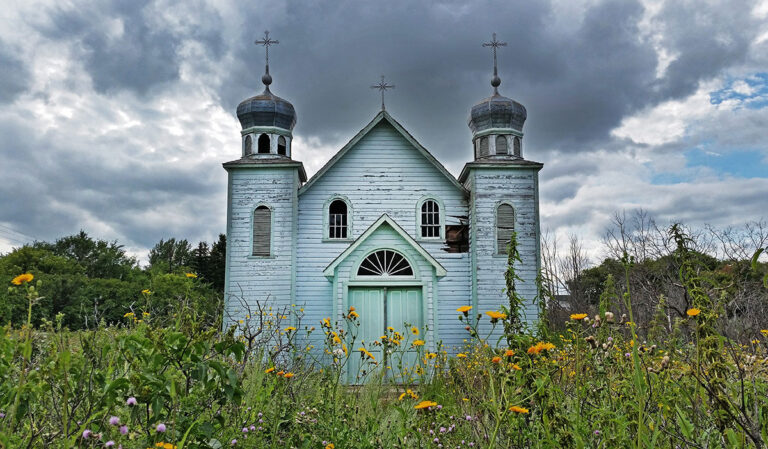 Abandoned Saskatchewan church