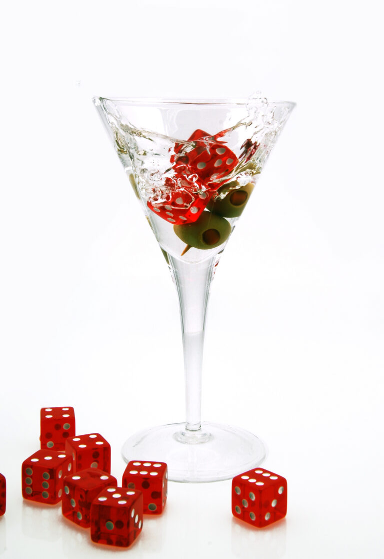 A Dicey Cocktail